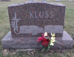 Ada E. <i>Stowe</i> Kluss