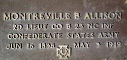 Lieut Monteville Bragg Allison