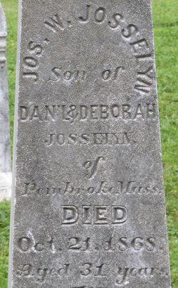 Joseph W Josselyn