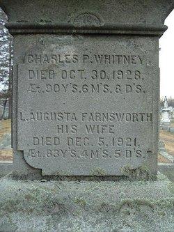 Lydia Augusta <i>Farnsworth</i> Whitney
