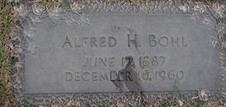 Alfred H. Bohl
