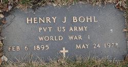 Pvt Henry Jacob Bohl