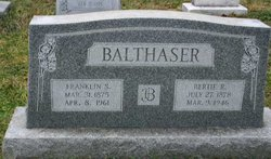 Alberta Rosanna Bertie <i>Bertram</i> Balthaser