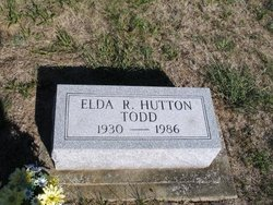 Elda Ruth <i>Hutton</i> Todd