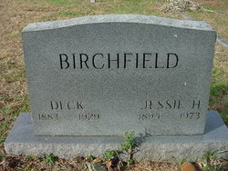 Jessie <i>Huffman</i> Birchfield