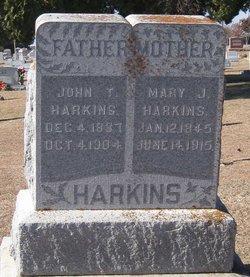 Mary Jane <i>Jones</i> Harkins