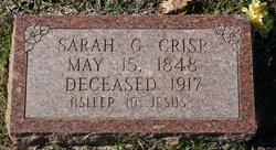 Sarah L <i>Gray</i> Crisp