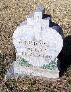Christoval F Acedo
