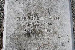 Clara <i>Carter</i> Acree