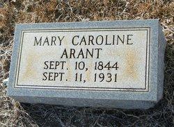 Mary Caroline <i>Williams</i> Arant
