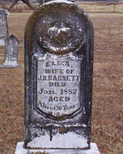 Eliza <i>Still</i> Barnett