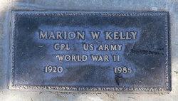 Marion William Kelly