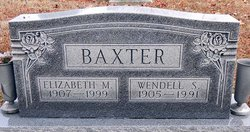 Elizabeth M. <i>Crane</i> Baxter