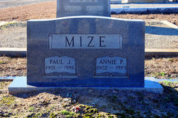 Paul Jones Mize