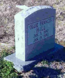 Ollie Frances <i>Mercer</i> Hill