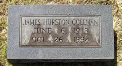 James Hurston Coleman