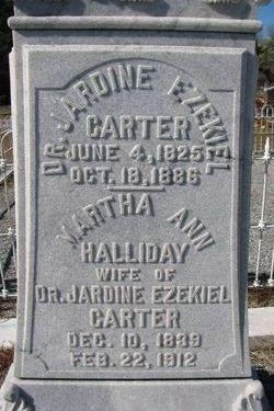 Dr Jardine Ezekiel Carter