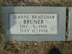 Jeanne Bradshaw Bruner