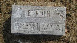 Emma <i>Keene</i> Burden