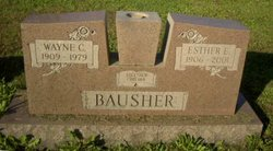 Esther E. <i>Dissinger</i> Bausher