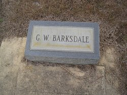 G W Barksdale