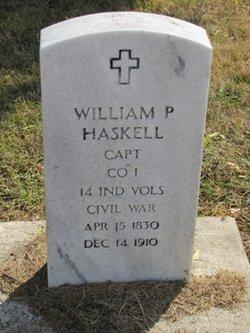 Capt William P. Haskell