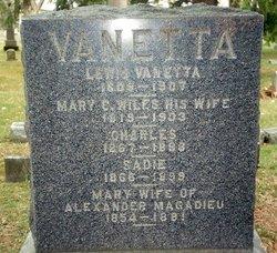 Mary Catherine <i>Wiles</i> Van Etta