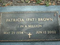 Patricia <i>Harrington</i> Brown