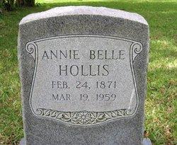 Annie Belle <i>Jones</i> Hollis