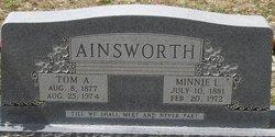 Minnie Lee <i>Tucker</i> Ainsworth