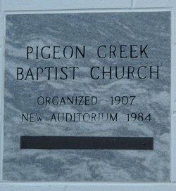 Pigeon Creek Baptist Church Memorial Cemetery