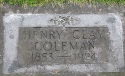 Henry Clay Coleman