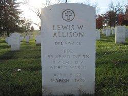 PFC Lewis Warren Allison