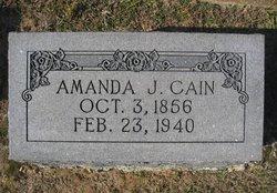 Amanda J. <i>Shoemaker</i> Cain