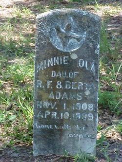 Minnie Ola Adams