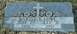 Myrtle Sue <i>Crawford</i> Lowe
