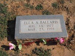 Ella Armenta <i>Sanders</i> Ballard