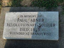 Pvt Paul Abner Abney