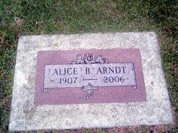 Alice B. <i>Koenig</i> Arndt