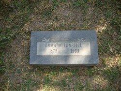 Emma W. <i>Walker</i> Tunstill