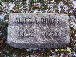 Alice Almedia <i>Kistner</i> Brobst