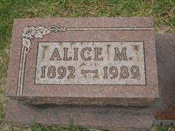Alice M <i>Glover</i> Amerman