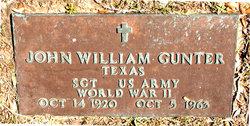 John William Gunter