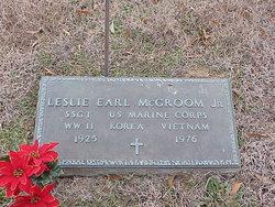 Sgt Leslie Earl McGroom, Jr