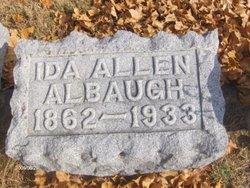 Ida <i>Allen</i> Albaugh