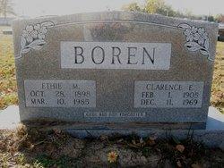 Clarence M Boren