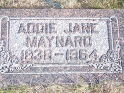 Addie Jane <i>Lilly</i> Maynard