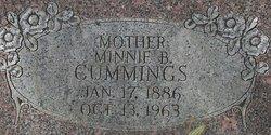 Minnie Belle <i>Matchett</i> Cummings