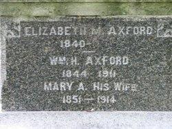 Mary A. <i>Newman</i> Axford
