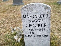 Margaret J. <i>Crocker</i> Duncan